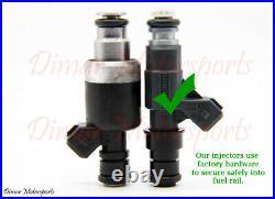 1985-1993 CORVETTE 5.7L V8 24lb Upgrade BOSCH Fuel Injector Set