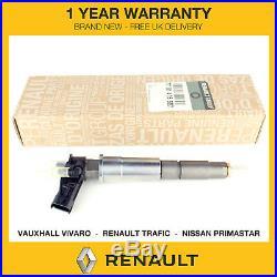 1x Renault Fuel Injector Fits Fits Nissan Primastar 2.0 DCI M9R 0445115007