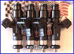 2000cc Bosch EV14 Fuel Injectors for Mitsubishi 4G63T 4AGE Lancer Evo 4 5 6 7 8