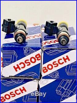 2200cc High Impedance Bosch 0280158829 Fuel Injectors 210LB 4 1 Year Warranty