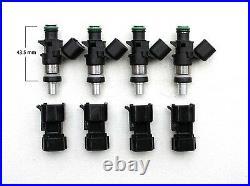 $309.49, SET 550cc Fuel Injectors Kawasaki, 2006-14 ZX14, 2003-06 ZX10, E85, GAS