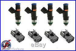 4 BOSCH EV14 60# 60lb 630cc FUEL INJECTORS 2002-06 ACURA RSX K20 TYPE S