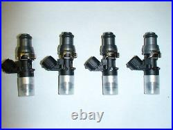 4 Genuine Bosch 2200cc fuel injectors Lancer Evolution 2.0 turbo Evo X 10 4B11T