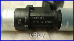 4 Genuine Bosch EV14 60lb 630cc fuel injectors 96+ Honda Civic Integra OBD2 11MM