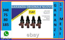 4 Iniettori Metatron Metano Fiat Multipla Panda Punto Bosch 0280150525