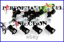 4 NEW 850cc BOSCH EV14 Fuel Injectors Honda K20 K24 Civic RSX Accord TSX