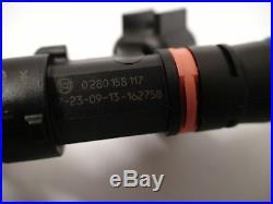 4 NEW Genuine Bosch EV14 52lb 550cc fuel injectors 2002-06 Acura RSX K20 K24