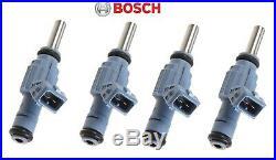 4 New BOSCH Genuine OEM Audi TT 1.8T AMU Fuel Injector Set 06A906031J 0280155892