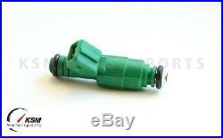 4 X 0280155968 Green Giant Fuel Injector fits Bosch 42lb Motorsport Racing 440cc