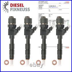 4 X Fuel Injector 0445110146 1.9 Opel Vivaro Renault Trafic Traffic Dti DCI