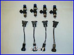4 new Genuine Bosch 160lb 1650cc fuel injectors 2002-06 Acura RSX Type-S K20 K24