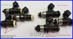 4 new Genuine Bosch 210lb 2200cc fuel injectors 2002-06 Acura RSX typeS K20 2.0L