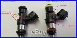 4 new Genuine Bosch 210lb 2200cc fuel injectors 2002-11 Honda Civic Si K20 2.0L