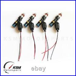 4 x 1000cc fuel injectors for MINI COOPER S R52 R53 2003-2007 fit BOSCH EV14