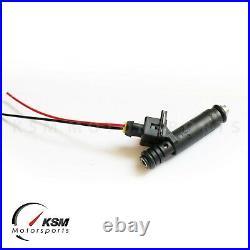 4 x 550cc 52lb Fuel Injectors fit Siemens Deka EV1 for VW Audi Bosch 1.8T E85