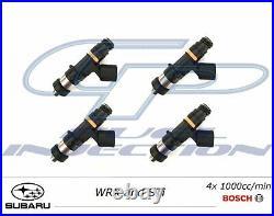 4x 1000cc BOSCH EV14 Fuel Injectors WRX STi SUBARU USCAR