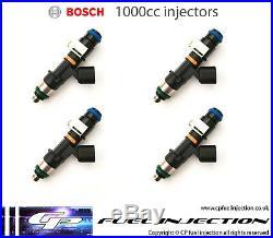 4x 1000cc VAUXHALL Z20LET, Z20LEH, Z20LER Z20LEL BOSCH EV14 Fuel Injectors