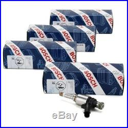4x BOSCH 0261500621 Einspritzventil Einspritzdüse AUDI SEAT SKODA VW 2.0 TSI/GTI