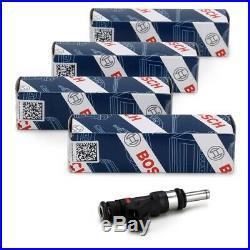 4x BOSCH 0280158123 Einspritzventil für PORSCHE 911 997 3.6 Turbo + GT2 + GT2 RS