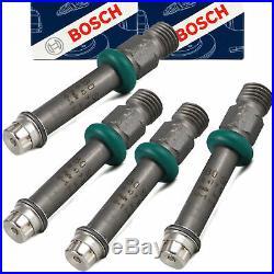 4x BOSCH 0437502045 Einspritzventilsatz 80 100 200 Caddy Golf Passat Scirocco