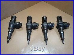 4x BOSCH INJECTOR VW AUDI SEAT SKODA 1.9 TDI PD 130 bhp 038130073AR