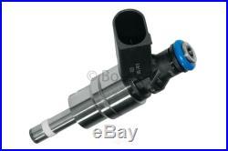 4x Bosch OEM VW GTI Jetta Audi A3 A4 TT 2.0T FSI Fuel Injectors Set with O-rings