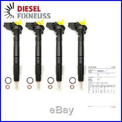 4x Fuel Injector Nozzle Bosch 03l130277 VW Audi Seat Skoda 2,0 Tdi 0445116030
