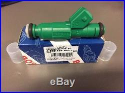 4x Genuine Bosch 42lb Green Giant Fuel Injectors 42 lb/hr