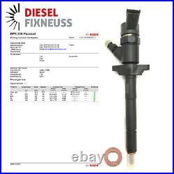 4x Injektor Bosch Einspritzdüse Ford Focus C-Max Mazda 3 0445110188 88 KW 109 PS