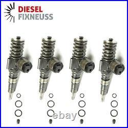 4xAudi A6 2.0 TDI Reconditioned Bosch Diesel Fuel Injector 0414720404 0414720402