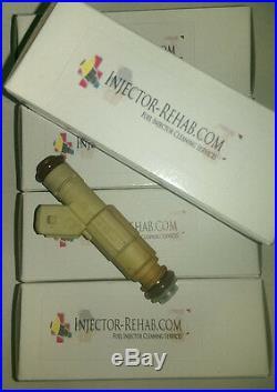 5 BOSCH 36lb Fuel Injectors AUDI RS2 Replica injectors C4 s4 s6 urS4 urS6 20vT