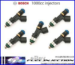5x 1000cc FORD FOCUS MK2 2.5T RS ST BOSCH EV14 Fuel Injectors