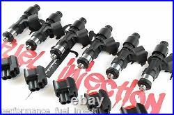 6 1000cc BOSCH EV14 Fuel Injectors Toyota 1JZGTE 2JZGE 7MGTE Supra Soarer MORE