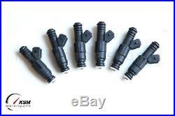 6 1200cc Fuel Injectors for BMW E36 E46 M50 M52 S50 M3 TURBO 114lb EV6 fit Bosch