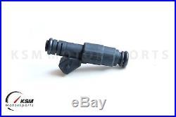6 Bosch 650cc Fuel Injectors BMW E36 E46 M50 M52 S50 M3 TURBO 60lb 62lb 65lb EV6