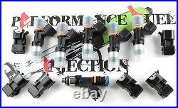 6 NEW 1000cc Bosch EV14 Fuel injectors BMW E46 E39 Z3 Z4 M54 3 & 5 Series