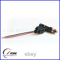 6 x 1200cc Fuel Injectors Fit Nissan 350z 370z VQ35/VQ37 for BOSCH EV14 E85