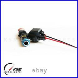 6 x 650cc fuel injectors for NISSAN SKYLINE R33 GTS-T RB25DET fit BOSCH EV14
