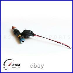 6 x 750cc fuel injectors for NISSAN SKYLINE R33 GTS-T RB25DET fit BOSCH EV14