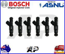 6 x BOSCH FUEL INJECOTRS FORD BA BF XR6 TURBO 1000cc 95lb E85 EV6 FPV HSV