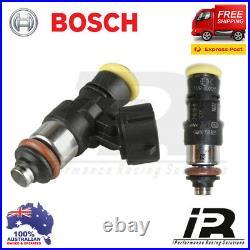 6 x New 2200cc BOSCH 0280158821 Fuel Injectors E85 OK replaces ID2000 Indy Blue