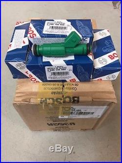 6x Genuine Bosch 42lb Green Giant Fuel Injectors 42 lb/hr Turbo 440cc BMW