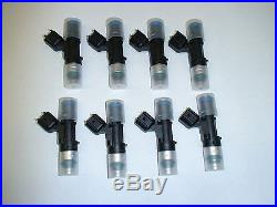 8 Bosch EV14 60lb 630cc fuel injectors LS2 6.0 Pontiac GTO C6 Corvette CTS-V 5.3