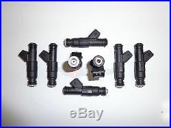 8 Flowmatched TRE 90LB EV1 Fuel Injectors Fit Bosch Siemens Deka IV 900cc E85