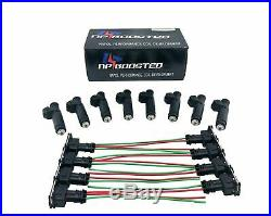 8 Fuel Injectors 60LB 630cc fits Siemens Deka Bosch Ford BMW Buick EV1 FI114961