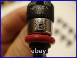 8 Genuine Bosch 210lb 2200cc 210# fuel injectors 2008-13 C6 Corvette 6.2 LS3 L99