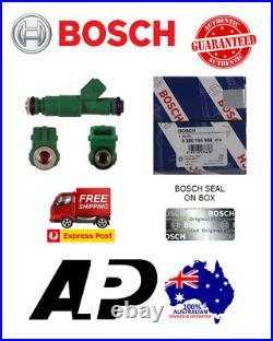 8 X GENUINE BOSCH 42lb INJECTORS 0280155968 440cc GREEN EA-EL AU BA BF XR6 LS1