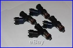 8 x BOSCH 2200cc Fuel Injectors E85 OK ID2000 2000cc Indy Blue V8 LS1 LS2 L98 LS