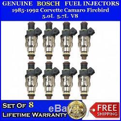 8x Upgraded Bosch 22LB 4 Hole Fuel Injectors for 85-92 Corvette Camaro 5.0L 5.7L