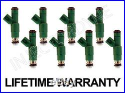 96 97 98 Jeep Grand Cherokee 5.2 5.9 V8 4-hole Upgrade Fuel Injectors withvideo